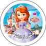 Pins Princesita Sofía Souvenirs Personalizados 55 Mm Morón