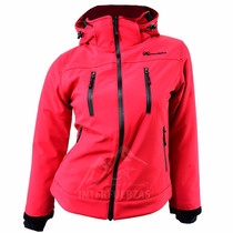 Campera Termica Impermeable Soft Shell Neoprene Dama