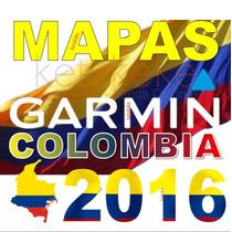 Mapa De Colombia Para Gps Garmin Actualizado Incluye Camaras