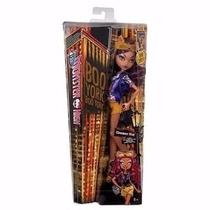 Boneca Monster High Boo York Clawdeen Wolf Mattel+brinde