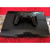 Playstation 3 Ps3 250gb Super Slim + Jogo + Frete Grátis