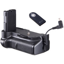 Bateria Battery Grip Câmera Nikon D5100 Controle De Brinde
