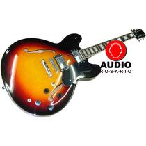 Texas E60 Guitarra Electrica Hollow Body