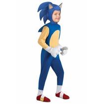 Disfraz De Sonic Para Niños Envio Gratis