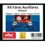 Kit 2 Faros Megane Laguna Scenic(99/) Kangoo(06/08)
