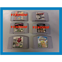 Jogos Nintendo 64 Cartuchos N64 Consulte O Preço Por Unidade