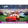 Painel Decorativo Festa Lona Banner Carros Disney 1 X 1,5 M
