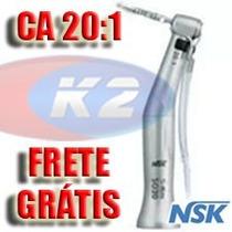 Contra Angulo Implante Redutor Nsk Smax Sg20 - 20:1 + Brinde