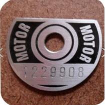 Plaqueta Original Motor Cht Gol, Escort, Parati, Saveiro