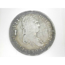8 Reales Copia Fernando Vii Epoca De Independencia 1821