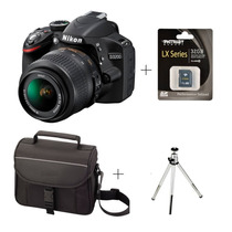 Câmera Digital Nikon D3200/d3300+18-55mm +bolsa +tripé +32gb