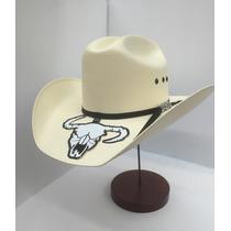 Sombrero Cuernos Chuecos Roper Liso Ojillos