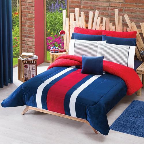 Cobertor king size borrega tomy marca concord envio gratis for Cuanto cuesta una cama king size