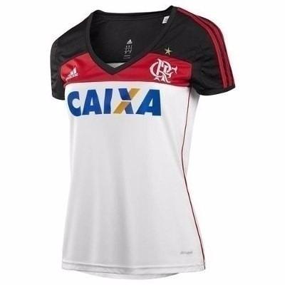 Camisa adidas Flamengo 2 Feminina Climacool Original 1magnus - R  89 ... e34e67faeceb8