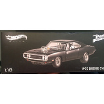 The Fast And The Furious Dodge Charger 1970 Hotwheels Elite.
