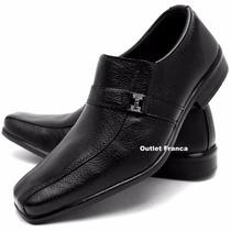 Sapato Social Masculino Couro Combina Camisa Dudalina