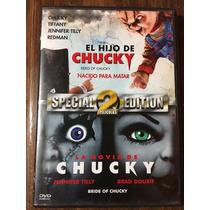 Dvd Doble Novia De Chucky Hijo De Chucky Remate Muñeco