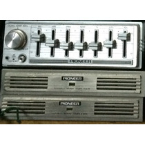 Componentes Pioneer Old School Ecualizador Y Amplificadores