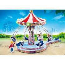 Retromex Playmobil 5548 Carrusel D Columpios Feria Ciudad