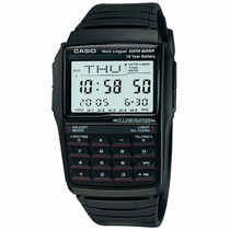 Relógio Casio Masculino Data Bank Calculadora Dbc-32-1adf.