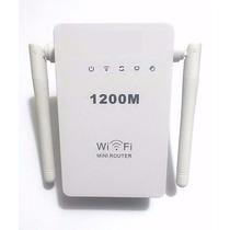 Repetidor E Roteador 1200mbps 2 Antenas Amplificador Wireles