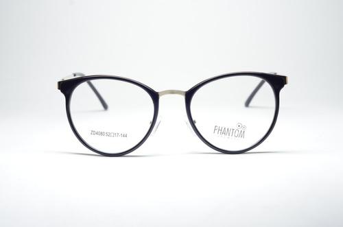 1127cf0de400c Armação Óculos P  Grau Feminino Preto Acetato Resistente - R  79