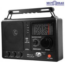 Radio Motobras Portatil Rm-pft122 Usb 12 Faixas