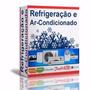 Curso 54 Dvds Refrigeração, Ar, Split, Lavadoura De Roupas