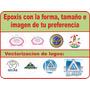 Diseño Epoxis Digital Personalizado O Con Tu Logo Sin Resina