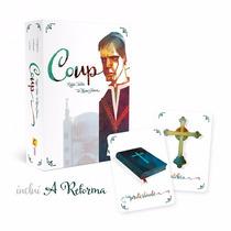 Card Game - Coup + Expansão A Reforma - Em Português