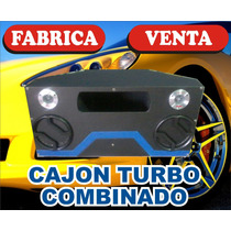 Cajon Turbo Combinado Full Lujo