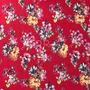Flores Rojo (Viscosa)