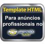 Templates Prontos E Editável Html P/ Anuncio No Ml Promoção
