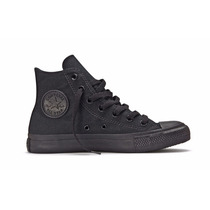 Zapatilla Bota Converse All Star Hi Black Monochrome(118002)