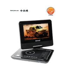 Dvd Player Portátil Carro - Tela Lcd 7, Usb E Sd