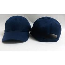 Gorra Unicolor Azul Marino Para Niño Especial Para Bordar