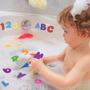 Letras Y Números Para Aprender En La Bañera