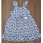 Vestido Infantil Estampado Tricoline - Veste 3,4 Anos