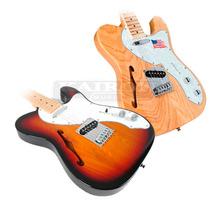 Guitarra Electrica Sx Telecaster Thinline Ftl H Hollow Body