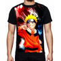 Camisa Naruto Roupas Masculinas Estampa Total Personalizada