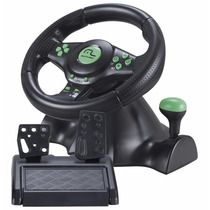 Volante Para Xbox 360 Ps2 Ps3 Pc Com Cambio Pedal Multilaser