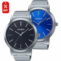 Reloj Dama Casio Ltpe118 - Cristal Mineral - Cfmx