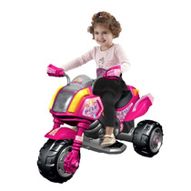 Motocicleta Motorizada Sable Color Rosa Con Luz