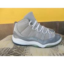 Tenis Jordan 11 Retro Cool Grey Infantil + Envio Gratis