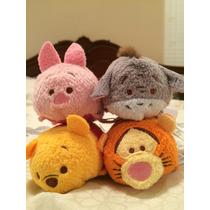 Tsum Tsum Mini Winnie Pooh Y Sus Amigos 4pza