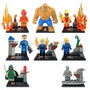 Set De Los Cuatro Fantásticos 8 Figuras Para Armar