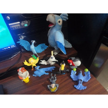 Lote De Varios Juguetes De Pelicula Rio Mc Donalds