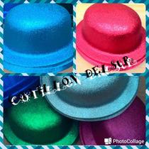 Sombrero Gorro Galera Bombín Gibre Cotillon Fiesta Disfraz