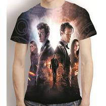 Camisa Série Filme Camiseta Doctor Who - Estampa Total