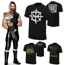Wwe Polos Seth Rollins, Brock Lesnar, Dean Ambrose, Cm Punk
